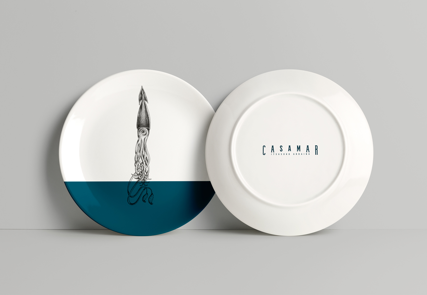 illustration pour le logo du restaurant Casamar